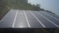 Sahu 2hp Solar Pumping System, Poultry Farm