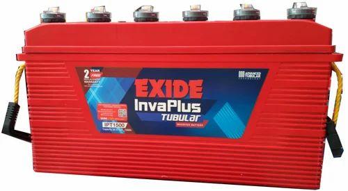Exide Invaplus Tubular 150ah Battery Ipt 1500 Usage
