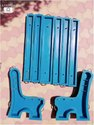Garden Chair Bench FRP Mould