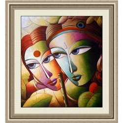 Radha Krishna Canvas Paintings