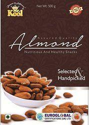 Mr.Kool Raw California Almond, Packaging Type: Pet Jar