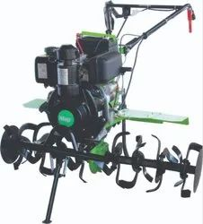 Mild Steel Self-Start Without Battery Rotary Weeder, Model Name/Number: AWP - 105DE