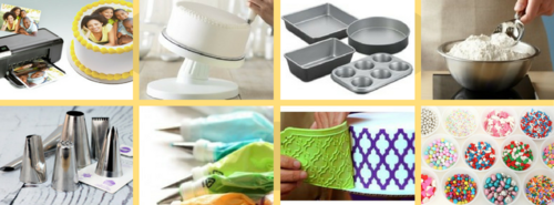 Cake Making And Decoration Material, Tools And Equipment ...