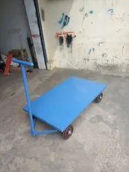 Balaad Mild Steel Platform Trolley, For Industrial, Capacity: 500 Kg