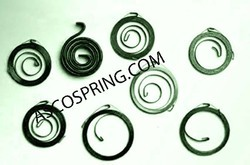 Flat Wire Spiral Springs