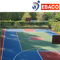 Basketball Court Pu Flooring, In Pan India, Thickness: 5 Mm To 14 Mm
