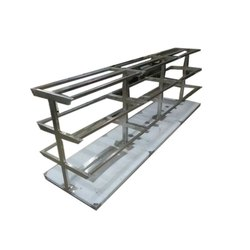 Sliver Color Stainless Steel Center Table