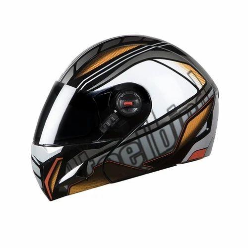 691bdfa2 Steelbird Flip-Up Helmets - Steelbird SBA-1 Air Rage Glossy White ...