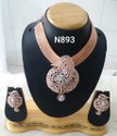 Nikita Plus Golden Brass Pendant Set