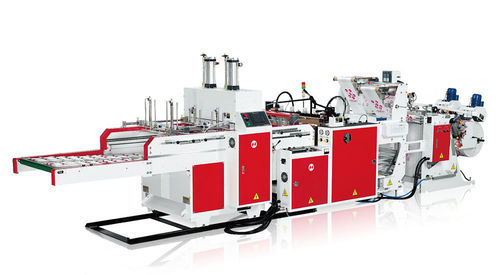 Mohindra grocery bag making machine Automatic Paper Carry Bag Making Machine, 10000 Pieces Per Hour, 3 H.p Motor