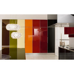 Multicolor Coloured Lacquered Glass
