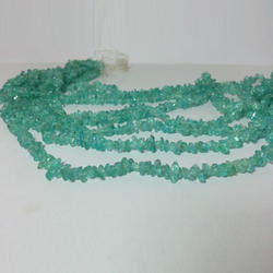 Natural Blue Apatite Raw Uncut Chip Beads