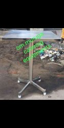 Own Stainless Steel Ss Standing Dining Table, for Hotel, Size: 2*2feet