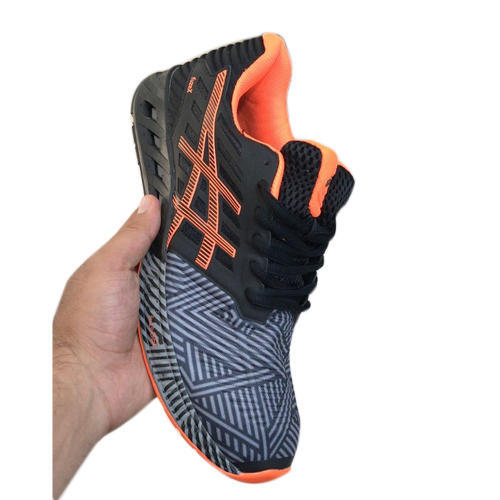 f3a7dbecc78577 Asics Black And Orange Sports Shoes