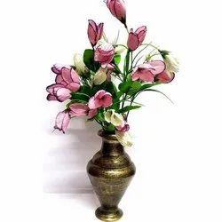 Wooden Flower Vase, Size/Dimension: 22 Cm X 12 Cm