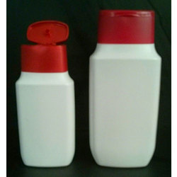 Oval Lotion Bottle With Oval Fliptop