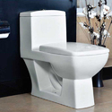 White One Piece Toilet Seat