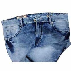 Mens Blue Denim Jeans, Waist Size: 36 And 38