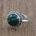 925 Sterling Silver Designer Malachite Gemstone Jewelry New Set