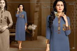 Collar Neck Beauty Kurti