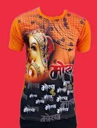 Mens Digital Printed T Shirt