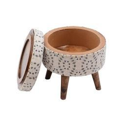 Wooden Stool Furniture Ottoman