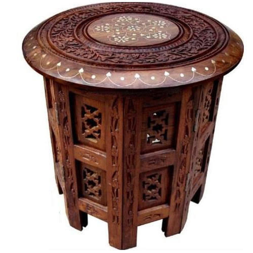 Wooden Table Wooden Handicraft Dining Table Manufacturer From