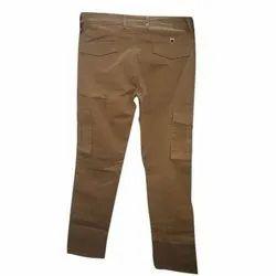 Cotton Regular Fit Mens Cargo Pant, Waist Size: 28-36