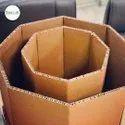 Paper Honeycomb Octagonal Box