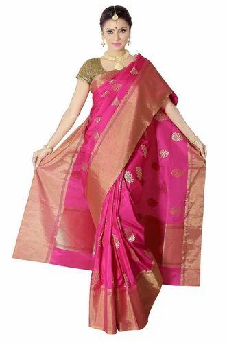 6e385b9187 Green-Red Women Banarasi Pure Silk Saree, Rs 20125 /piece ...