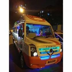 20 Seater Deluxe Traveller Rental Service