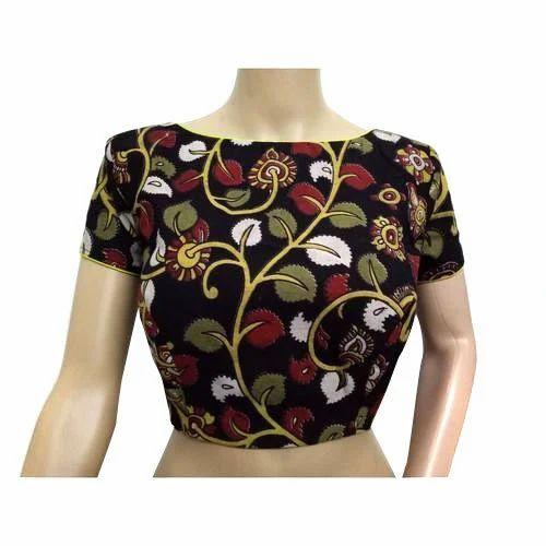 936d116585278f Cotton Printed Ladies Kalamkari Blouse