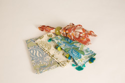 Embroidery,Printed Multicolor Table Linen