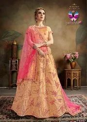 Organza Latest Lehenga Choli