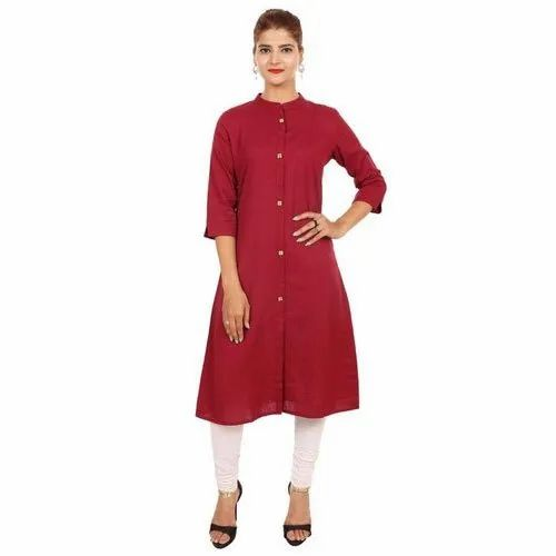 Ladies Ethnic Cotton Kurti
