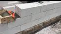 Square Solid Blocks Concrete Block Wall, For Side Walls, Compressive Strength: 6