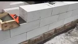 Solid Blocks concrete block wall, For Side Walls, Compressive Strength: 6