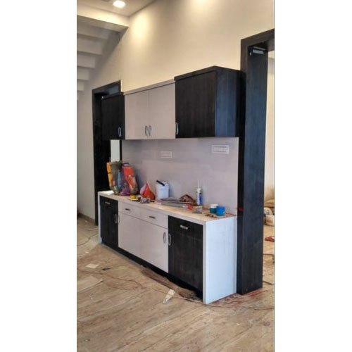 White And Black Wooden Kitchen Cabinet Size Dimension 2 5 To 3 Feet Height Rs 1600 Square Feet Id 21357038555
