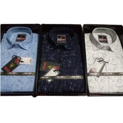 For You Cotton Men Casual Shirts, Size: S-xxl