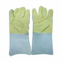 Kevalar/Para Aramid Palm Leather Hand Gloves- 14