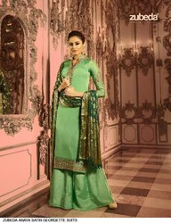 Partywear Plazzo Suits