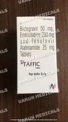 Taffic (Bcitegrevir, Emtricitabine & Tenofovir AF)