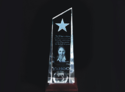 3d Crystal Corporate Award