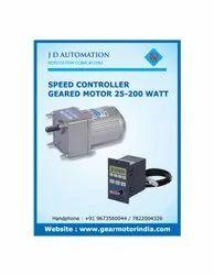 180W FHP AC Geared Motor