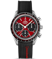 Omega Men Speed Master Red Dial Watch
