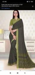 Simple Uniform Saree