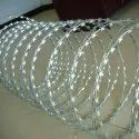 Silver Galvanized Iron Razor Concertina Wire For Fencing