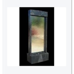 Indoor Brass Cnc Glass Water Fountain