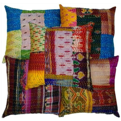 Indian Handmade Patola Silk Cushion Covers