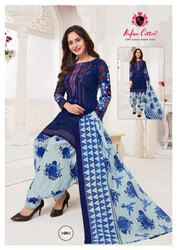 Patiyala Cotton Dress Material